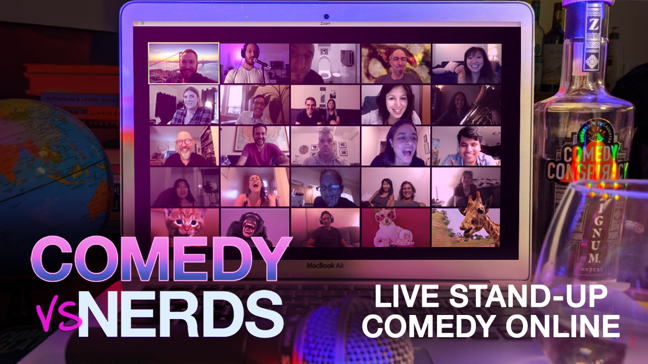 Live Stand-Up Comedy Works On Zoom And I Have A Video To Prove It 🚀 - Michael Makarov